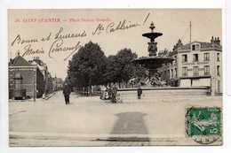 - CPA SAINT-QUENTIN (02) - Place Dufour-Denelle (CHARCUTERIE RESTAURANT HAVRET GODIN) - N° 48 - - Saint Quentin