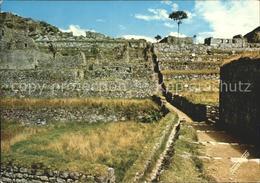 72349522 Machupicchu Terrassen Mit Langer Treppe Peru - Peru