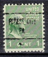 USA Precancel Vorausentwertung Preo, Locals Pennsylvania, Forest City 723 - Vereinigte Staaten