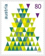 Austria 2015 Set - Christmas 2015 - Fir Tree - 2011-... Unused Stamps