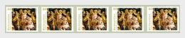 Austria 2015 Set - Christmas 2015 – The Winged Altar Of Gampern, Retable (Strip Of 5) - 2011-... Unused Stamps