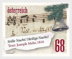 Austria 2016 Set - Christmas 2016 - Words To Silent Night - 2011-... Unused Stamps