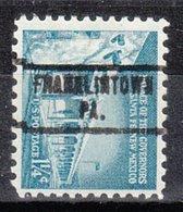 USA Precancel Vorausentwertung Preo, Locals Pennsylvania, Franklintown 734 - Vereinigte Staaten