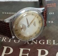 Longines Cal. 1268z. Quadrante Bitonale Cassa In Acciaio 100%  Originale - Watches: Top-of-the-Line
