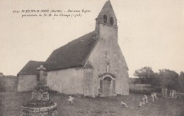 CPA - St Jean D'Assé - Ancienne église Paroissiale De Notre Dame Des Champs ( 1703 ) - France