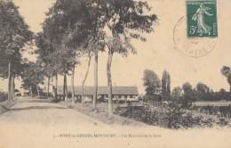 CPA - Pont De Gennes Montfort - Les Environs De La Gare - Montfort Le Gesnois