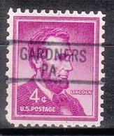 USA Precancel Vorausentwertung Preo, Locals Pennsylvania, Gardners 812 - Vereinigte Staaten