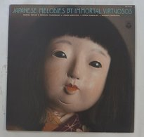 Vinyl LP:  Japanese Folk Melodies By Immortal Virtuosos  OZ-7554-N Columbia JPN - World Music