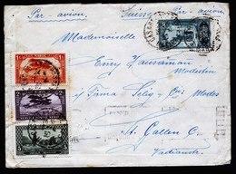 A5383) Maroc Marokko Luftpostbrief Casablanca 16.4.30 N. St. Gallen / Schweiz - Marokko (1891-1956)
