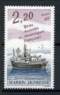 TAAF 1993 N° 174 ** Neuf MNH Superbe Cote 1,25 € Bateaux Boats Ships Navire Marion Dufresne Transports - Terres Australes Et Antarctiques Françaises (TAAF)