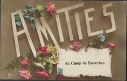 AMITIES DU CAMP DE BEVERLOO * LEGERPOST * 1919 * RI 8 DI 7me Gie E 57 * 2 SCANS - Leopoldsburg (Kamp Van Beverloo)