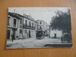 CPA 34 Hérault Castelnau Le Lez Place De La Mairie Arrivée Du Tramway TBE - Castelnau Le Lez