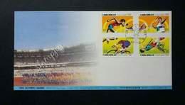 Hong Kong China Olympic Games 1992 Sports (stamp FDC) - 1997-... Région Administrative Chinoise