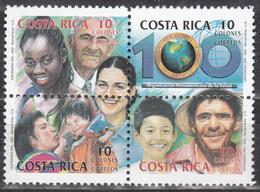 COSTA RICA   SCOTT NO. 558    MNH    YEAR  2002 - Costa Rica