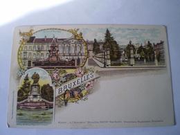 Bruxelles // Litho No 21 (Souvenir ) Ca 1899 - België