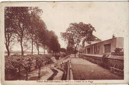 CPA - SAINT DYE SUR LOIRE - L'hôtel De La Plage - France