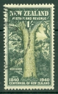 New Zealand: 1940   Centennial    SG625   1/-    Used - 1907-1947 Dominion
