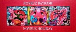AZERBAIJAN 2018 * NOWRUZ - HOLI * SOUVENIR SHET * MNH** - Azerbaïjan