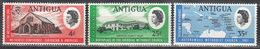 ANTIGUA    SCOTT NO. 190-92    MNH    YEAR  1967 - Antigua E Barbuda (1981-...)