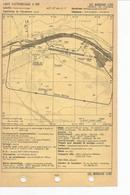 Carte D'atterrissage à Vue  Et Carte D'approche à Vue LES MUREAUX LFXU - Cartes
