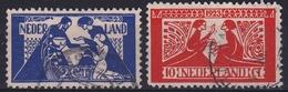 1923 Tooropzegels Complete Serie NVPH  134 / 135 - 1891-1948 (Wilhelmine)