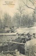 GUERRE 1914/18 - Environs De Lunéville, Tranchées Dans La Forêt. - Guerre 1914-18