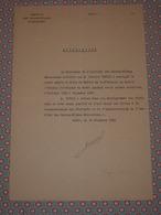 MAROC 1939 - Autographe - Lettre Signée Louis BRUNOT Maroc Rabat - Directeur Institut Des Hautes Etudes Marocaines - Autographes