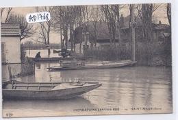 SAINT-MAUR- INONDATIONS DE JANVIER 1910 - Saint Maur Des Fosses