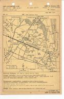 Carte D'atterrissage à Vue AGEN LA Garenne (Lot Et Garonne) Carte D'approche à Vue AIX Les Milles (Bouches Du Rhône) - Cartes