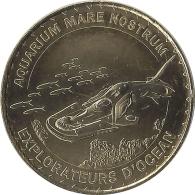 S14A344 - 2014 AQUARIUM MARE NOSTRUM 3 - Explorateurs D'océan / MONNAIE DE PARIS - Monnaie De Paris