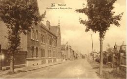 Hannut. Gendarmerie Et Route De Huy. - Hannuit