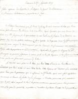 1809 - BEAUCAIRE - L.A.S. FABRE, Régisseur Des Propriétés De L'entreprise Du CANAL DE BEAUCAIRE - Troupeaux - Documenti Storici