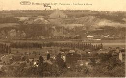 Hermalle -sous- Huy (Engis). Panorama - Les Fours-à-chaux. Industrie - Engis