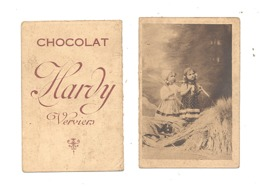 Petit Calendrier Publicitaire De 1927 - Chocolat HARDY à Verviers (nod) - Calendriers