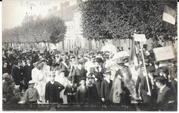 60 - ESTREES-SAINT-DENIS - Carte Photo Fête Du 14.08.1910 - Bon état - Estrees Saint Denis