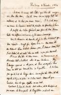1850 - Près DREUX - Lettre à M. Le Cte De RORHIMORE D'AIGREMONT, Comdt La Garde Nationale à NISMES (30) - Documenti Storici