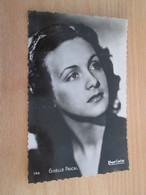 """CARPO418 : Carte Postale N&B / Photo Vedette De Cinéma GISELLE PASCAL ,  Années 50/60 PHOTO """"Editions P.I."""" - Acteurs"""