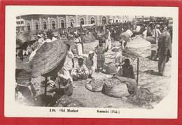 CPA: Pakistan - Karachi - Old Market - Vieux Marché - Pakistan