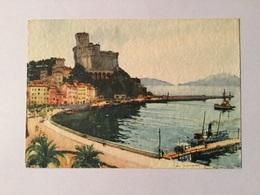 Golfo Della Spezia - Il Castello Di Lerici Illustrata Aldo Raimondi Viaggiata F.grande - La Spezia