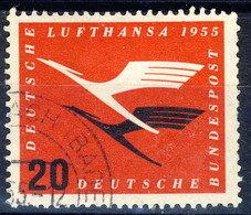RFT-BRD 1955 UN Serie N. 84 Usato Cat. € 8 - Gebraucht