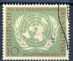 RFT-BRD 1955 UN N. 97 Usato Cat. € 5 - Gebraucht