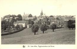 Les Villes. Agglomération De Herve. Collection Les Paysages De Herve 5ème Série. - Herve