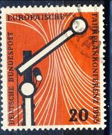 RFT-BRD 1955 UN N. 95 Usato Cat. € 3 - Gebraucht