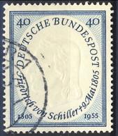 RFT-BRD 1955  UN Serie N. 86 Usato Cat. € 7 - Gebraucht