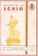 SCHIO Vicenza Piantina Carta Mappa 1959 - Geographical Maps