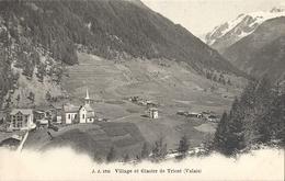 CPA Trient Village Et Glacier - VS Valais
