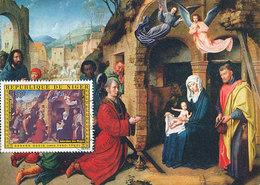 D33305 CARTE MAXIMUM CARD FD 1976 REP. NIGER - ADORATION OF THE KINGS BY GERARD DAVID CP ORIGINAL - Religious