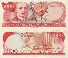 COSTA RICA       1000 Colones       P-264e       27.9.2004       UNC - Costa Rica