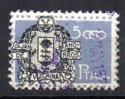 Viñeta Caja De Ahorros Vizcaya 5000pts - España