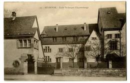 CPA 68 Haut-Rhin Mulhouse Ecole Technique D'Apprentissage - Mulhouse